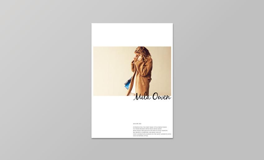Mila Owen<br>2018AW 1st/2nd